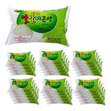 [곤약함량98.7프로 곤약쌀, 10kcal] 대신곤약 알알이곤약 (200g*30팩) / 무료배송