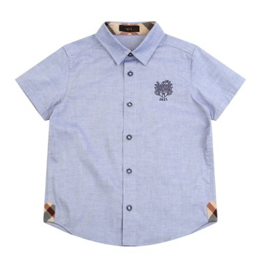 솔리드 반팔 셔츠(DPM10XS12M_BU)