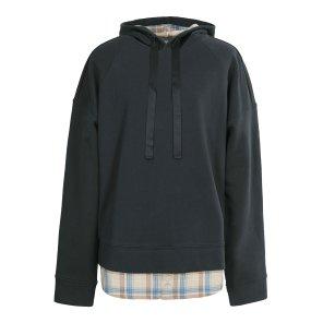 리버클래시MA 네이비배색레이어나그랑라인후드티셔츠 LGS41410MA-EL