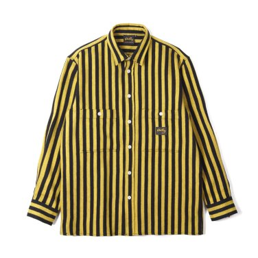 Stan Ray Flannel Shirt Old Yellow Stripe