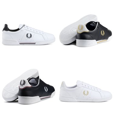 FRED PERRY 남녀공용 B722 Leather SFPU17222_1