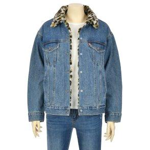 여성 리버시블 퍼 트러커 자켓(83958-0000)