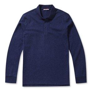 인기 남성 멜란지 소프트 카라 티셔츠