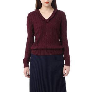 로렌 케이블 니트 스웨터(WMLRSWES6810095B46)