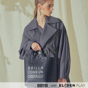 [비비와이비][러블리즈 정예인,웬디 착용] MARCE Tote Bag (Jade Black) (09I3210B1K)