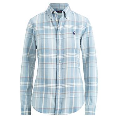 폴로 랄프 로렌 클래식 핏 플래드 코튼 셔츠(WMPOSHTN6810200B33)