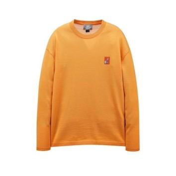 오렌지 이그나시 아트웍 와펜 크루넥 니트 JNSW0B623O1