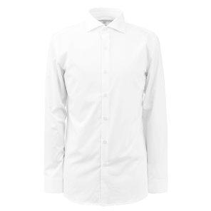 리버클래시[CNN]19F/W 화이트 기본 4WAY 4방스판 스트레치 드레스 셔츠/LFW31390CNN
