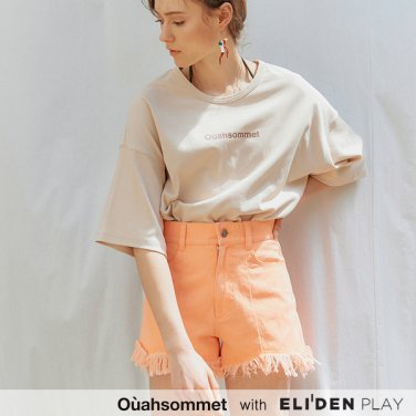 [우아솜메] Ouahsommet Fringe Short Pants_PK (OBFPT008A)