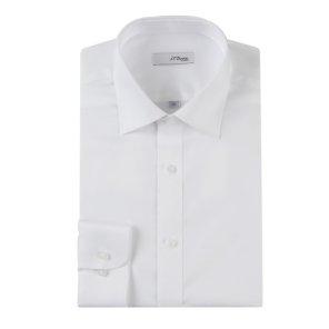긴소매 슬림핏 셔츠 (SE0SM21LS301SWH)