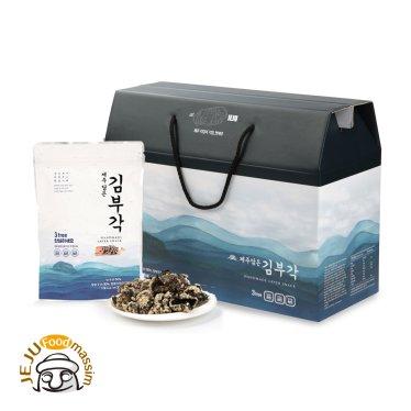 ◆[블랙푸드] 제주담은 김부각 선물세트 (35g x 7팩)/무료배송