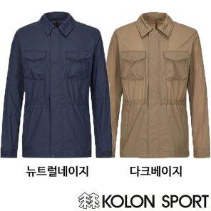 코오롱스포츠 남성 셔츠형 사파리 자켓 JWJJM19411DBE,NNA