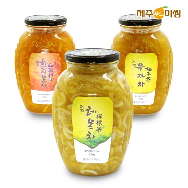 [제주푸드마씸]  레몬차/유자차/생강차 外 모음전