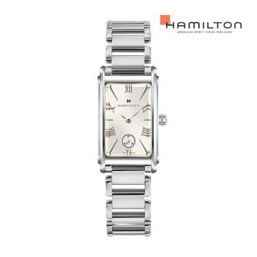 H11221114 아메리칸클래식 아드모아 실버 스몰 메탈 여성 시계