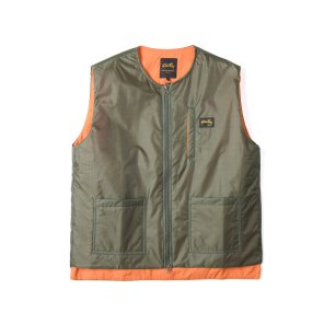 Stan Ray Liner Vest  Olive Nylon R/S
