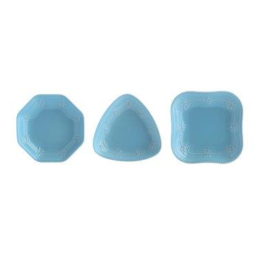 페스티비티 12cm 찬기세트3p(블루)