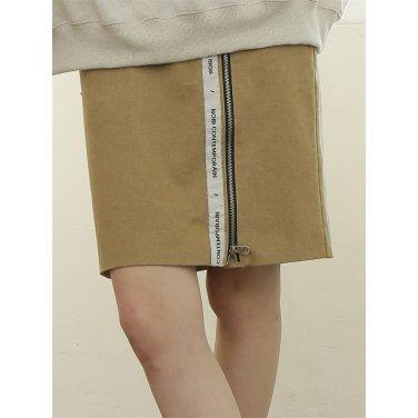 [느와] Log Skirt