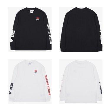 비엘라 라운드 티셔츠 FK2RLB3201X