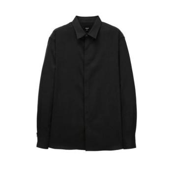 다크차콜 스웨이드터치 텐셀 셔츠 (ARSH0A106G3)