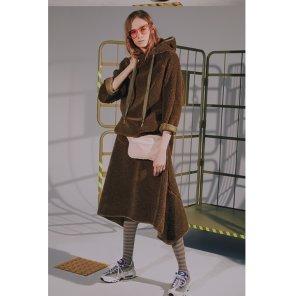 [TAZE] Sammy Faux Fur Skirt 2_COLOR(TAZEFW40E)