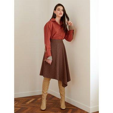 [에프코코로미즈] un ruffle wrap skirt