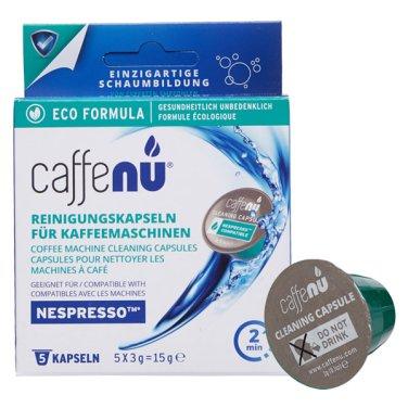 네스프레소 커피머신 청소 클리너 캡슐 3g x5개입