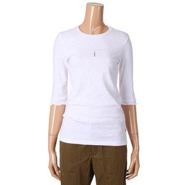 [여성]골지 5부 기본 이너 티셔츠(T192MTS133W)